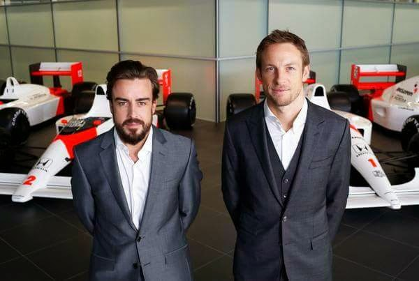 Team Mclaren : Fernando Alonso and Jenson Button