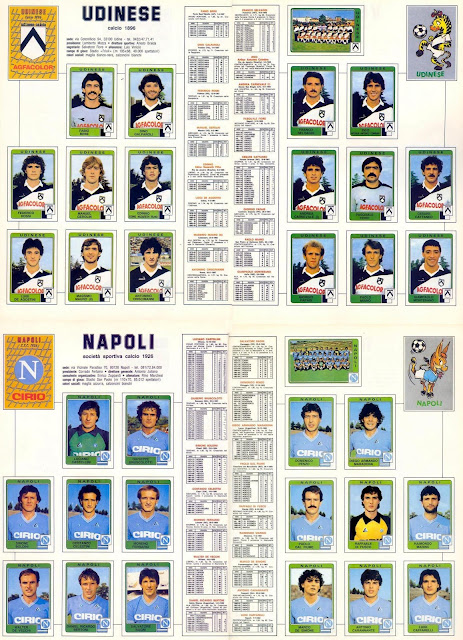 Fritz the flood zico vs maradona campionato serie a 1984 for Serie a table 1984 85