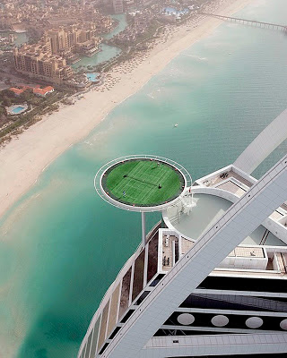 World Highest Tennis Court Pictures Collections