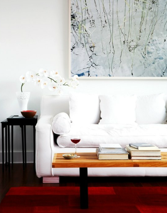 DECOR TREND: Large scale wall art   Photo by Jacob Snavely