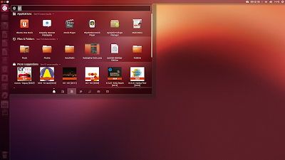 ubuntu 12.10 screenshot