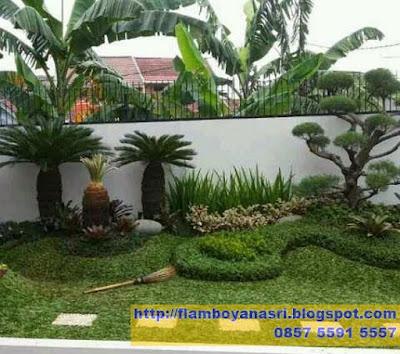 Tukang Taman Surabaya Taman Minimalis Simpel
