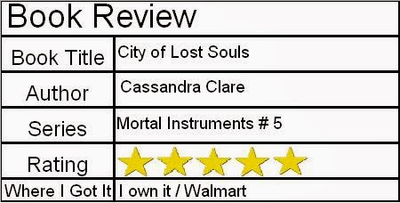 City of Lost Souls  Mortal Instruments   5  ReviewCity Of Lost Souls Page 511