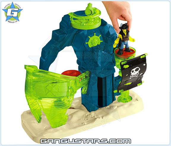 Fisher-Price Imaginext Ghost Pirate Island new 2015 batman dc comics アメコミバットマン イマジネックスト
