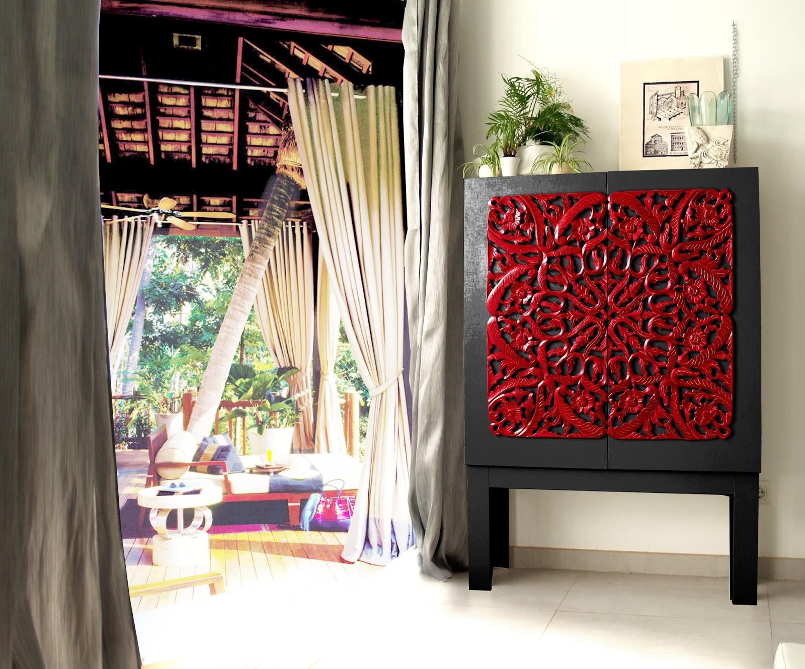 Sensaciones de hogar muebles orientales para salones y for Dormitorios orientales