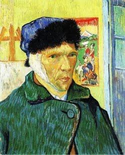 Auto-retrato com orelha ligada - 1889