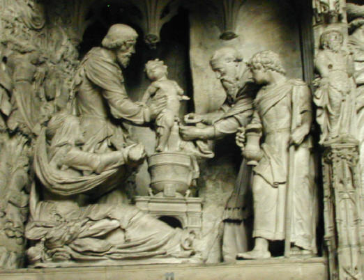 Circumcision of Yahshua - Chartres  Cathedral