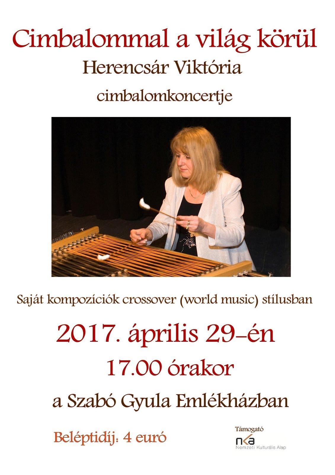 Cimbalomkoncert a Sz. Gy. Emlékházban