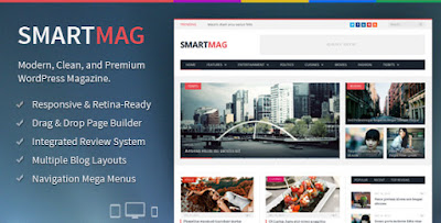 Download SmartMag v2.5.2 Responsive & Retina Wp Magazine Theme