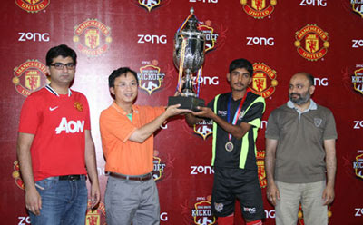 Rooney United Faisalabad won ZONG United Kickoff Tournament champions.