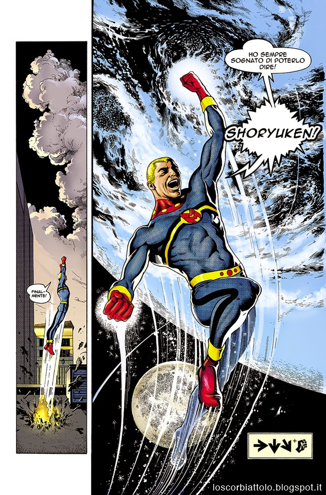 miracleman gag meme funny alan moore street fighter shoryuken dragon punch