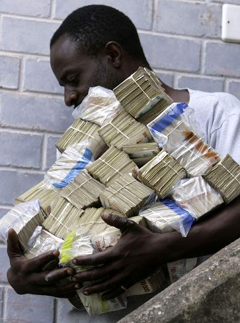 Zimbabwe Annual Inflation now less than the UK's