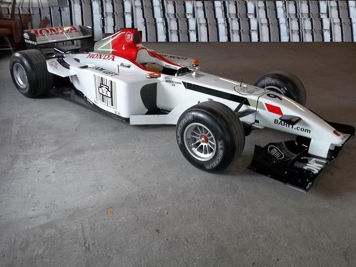Speedmonkey Spotted BAR Honda F Car BAR - F1 show car
