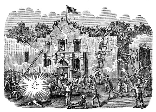 Help with the Battle of The Alamo and San Jacinto?