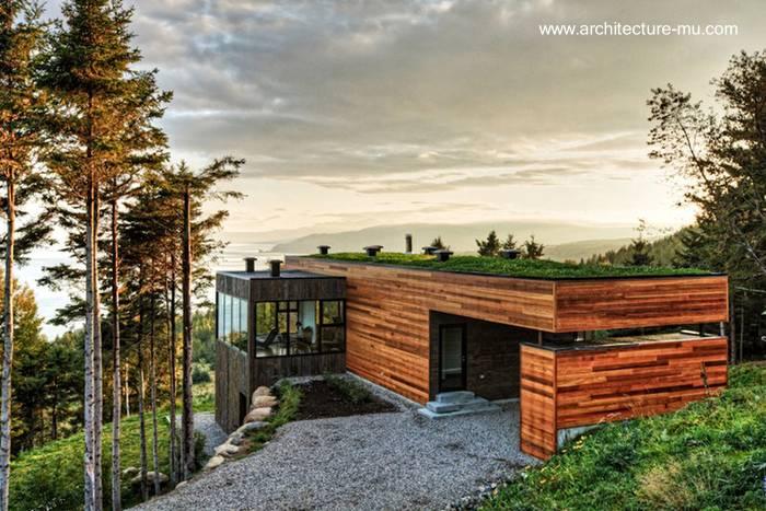 Arquitectura de casas modernas y contempor neas en - Casas en canada ...