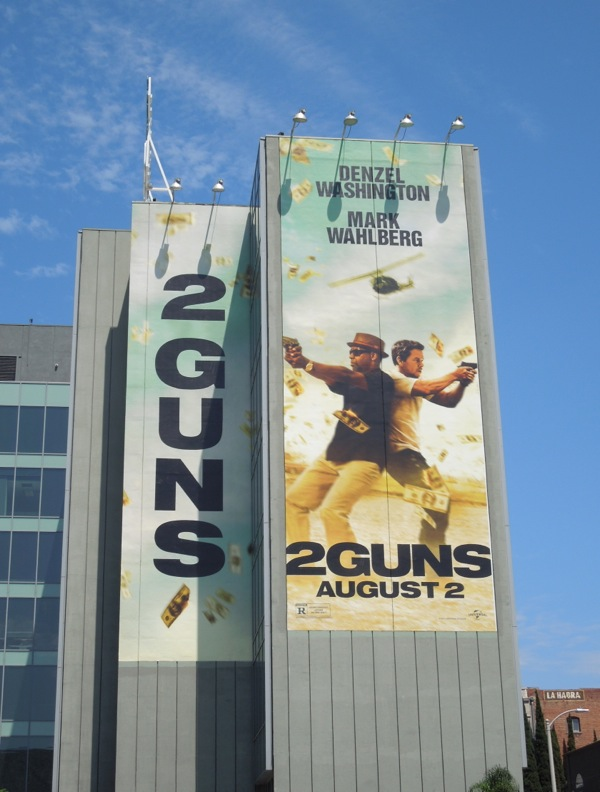 Giant 2 Guns film billboard