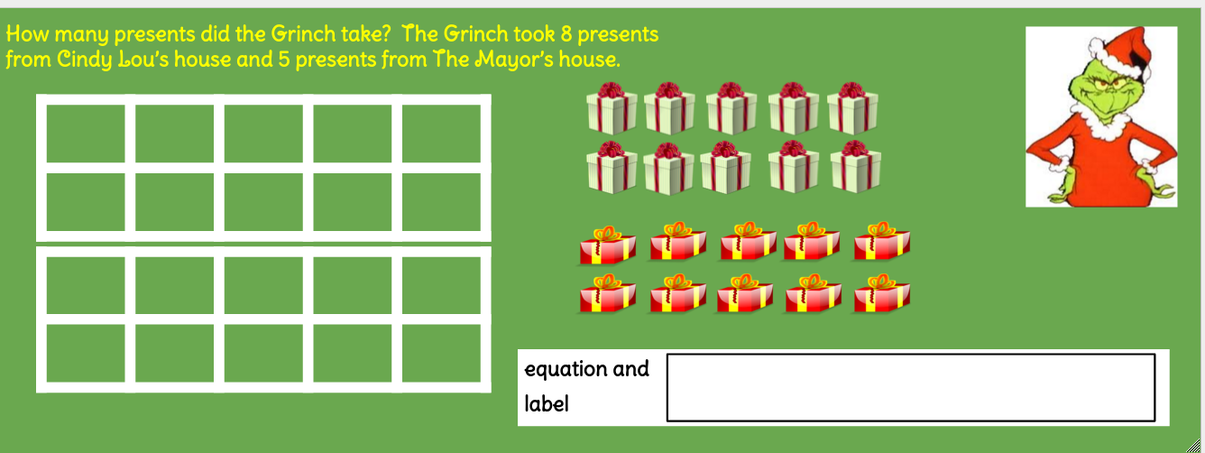 My Chromebook Adventures In First Grade Some Christmas Google Draw
