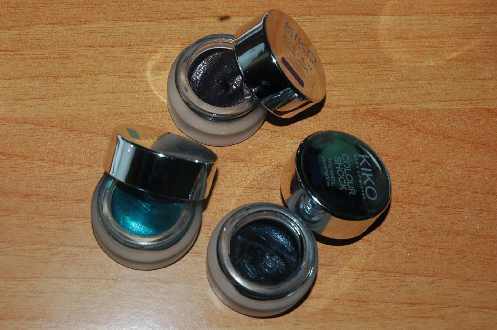 make up Kiko eyeshadow in cream