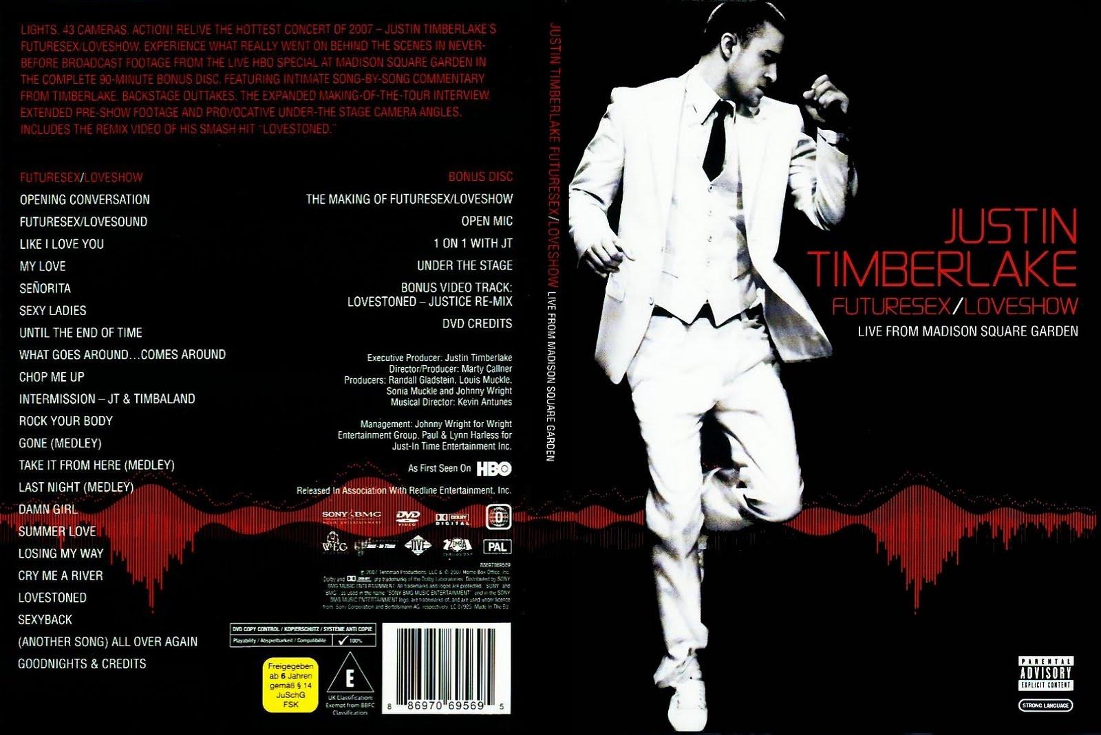 Justin timberlake zukünftige sex dvd