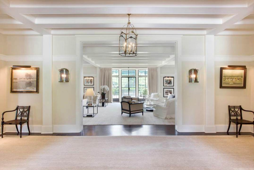 Foyer Into Room : See this house the inside out of a million hamptons