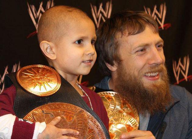 Bryan Danielson Make A Wish Tag Team Titles Team Hell No