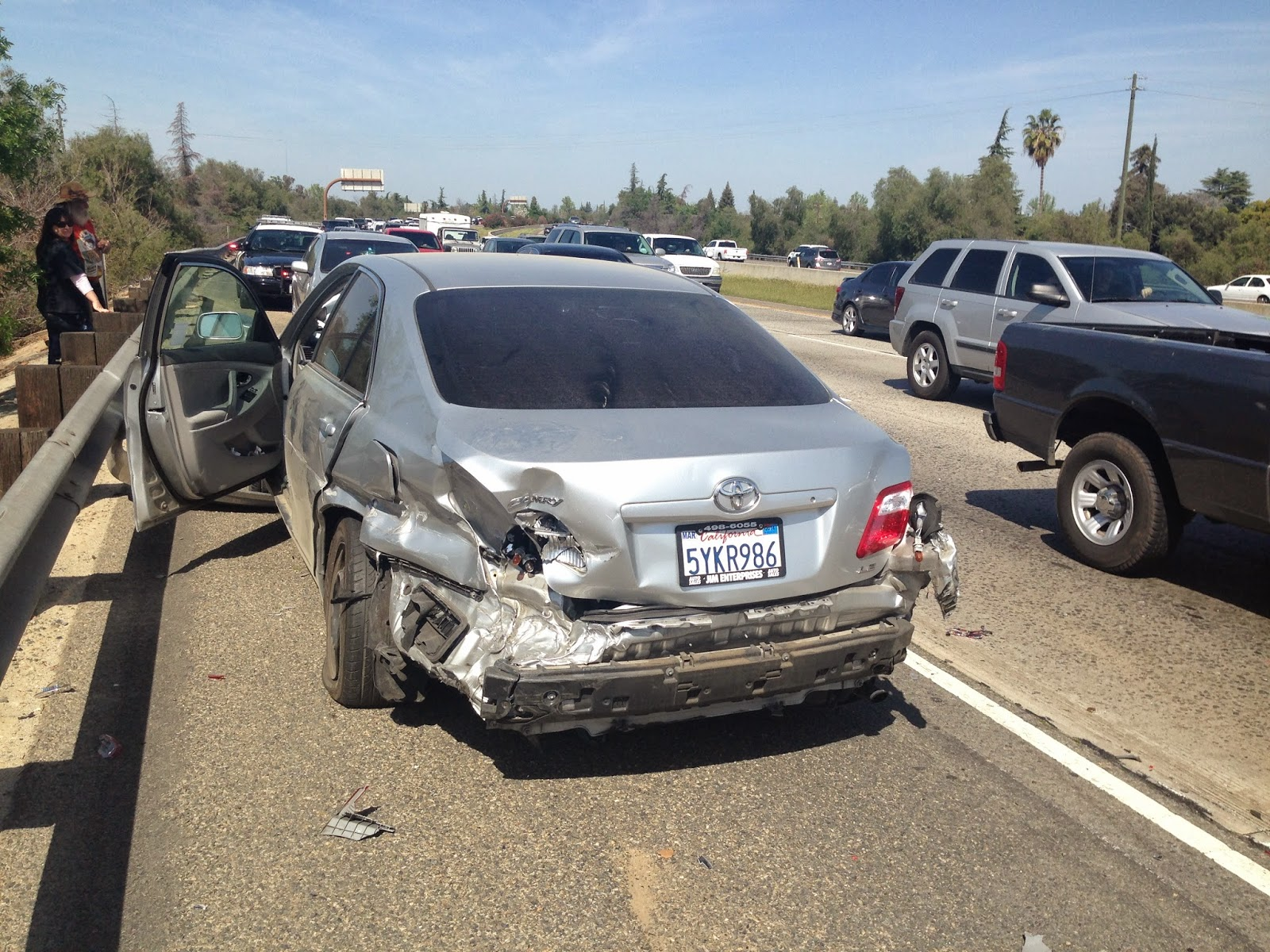 Fresno Visalia Bakersfield Accidents Hit And Run Car