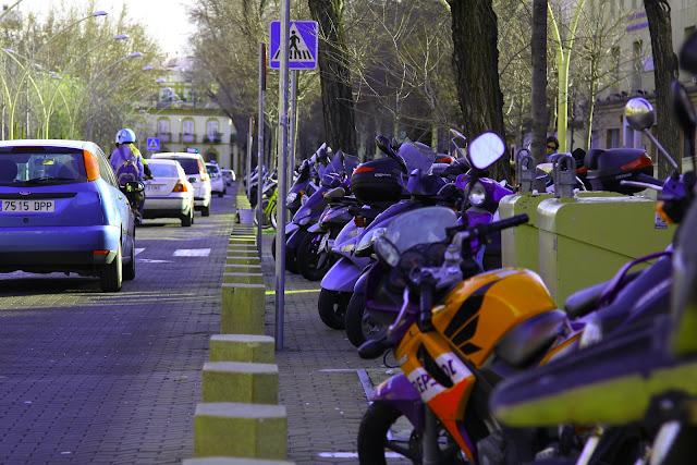 Motos en la Alameda