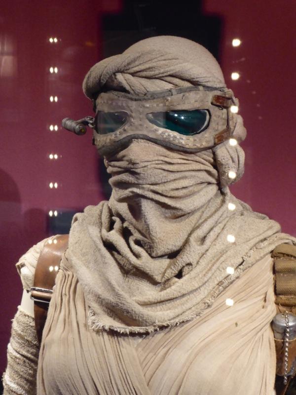 Star Wars Force Awakens Rey goggles head wrap