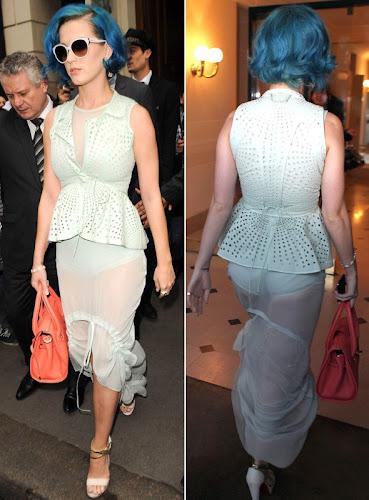 Foto Katy Perry dengan Baju Transparan
