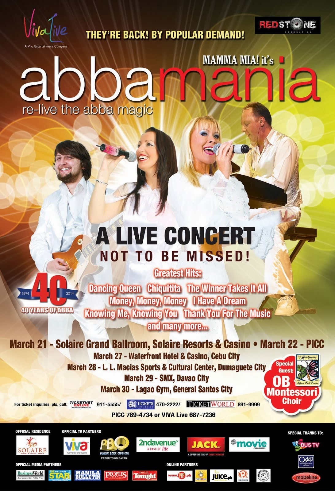 Abba Mania: Re-Live The Abba Magic