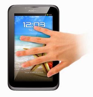 Spesifikasi dan Harga Advan Vandroid T1H, Tablet Android Jelly Bean