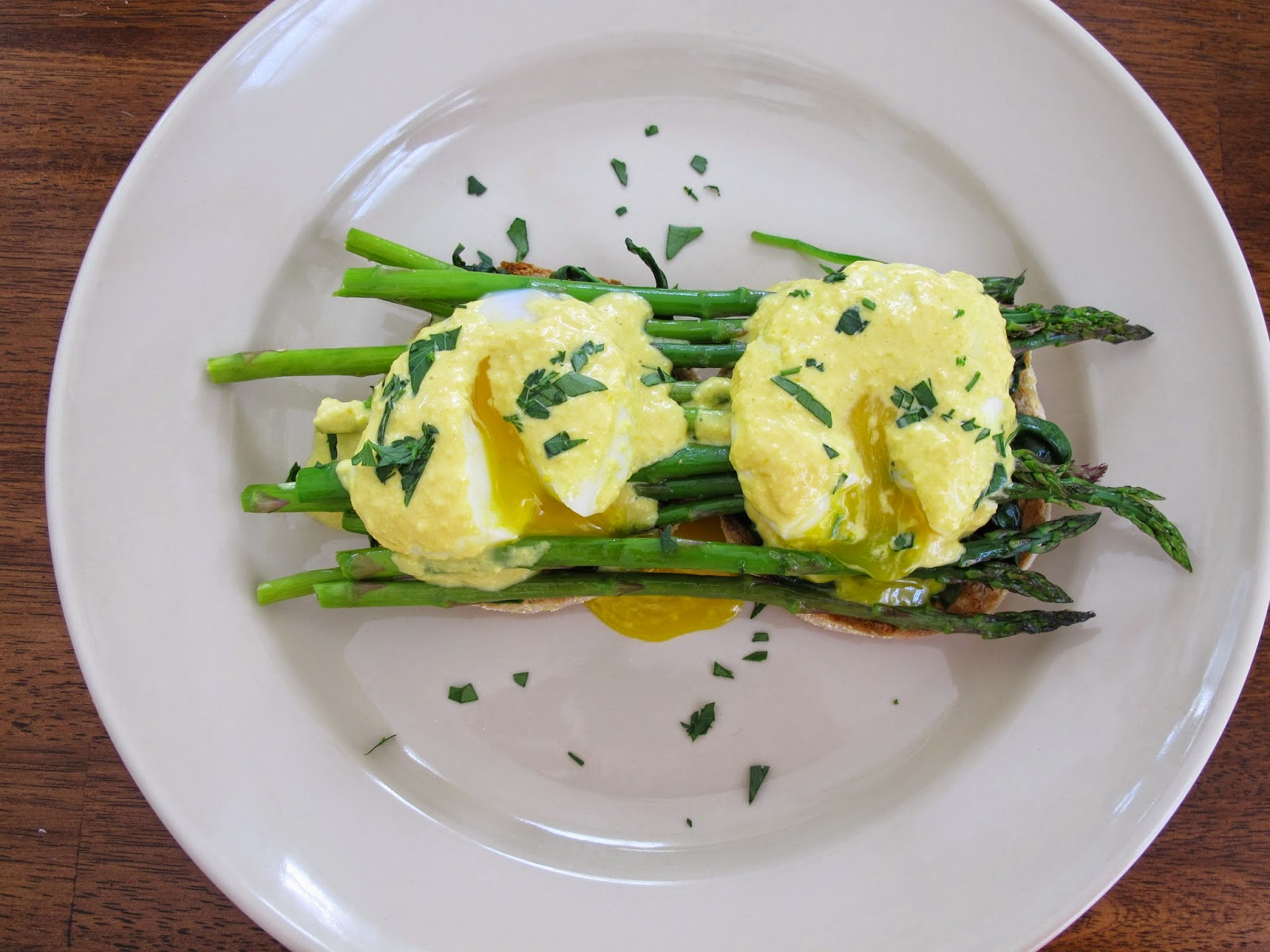 Sprouted Kitchen Vegetable Eggs Benedict