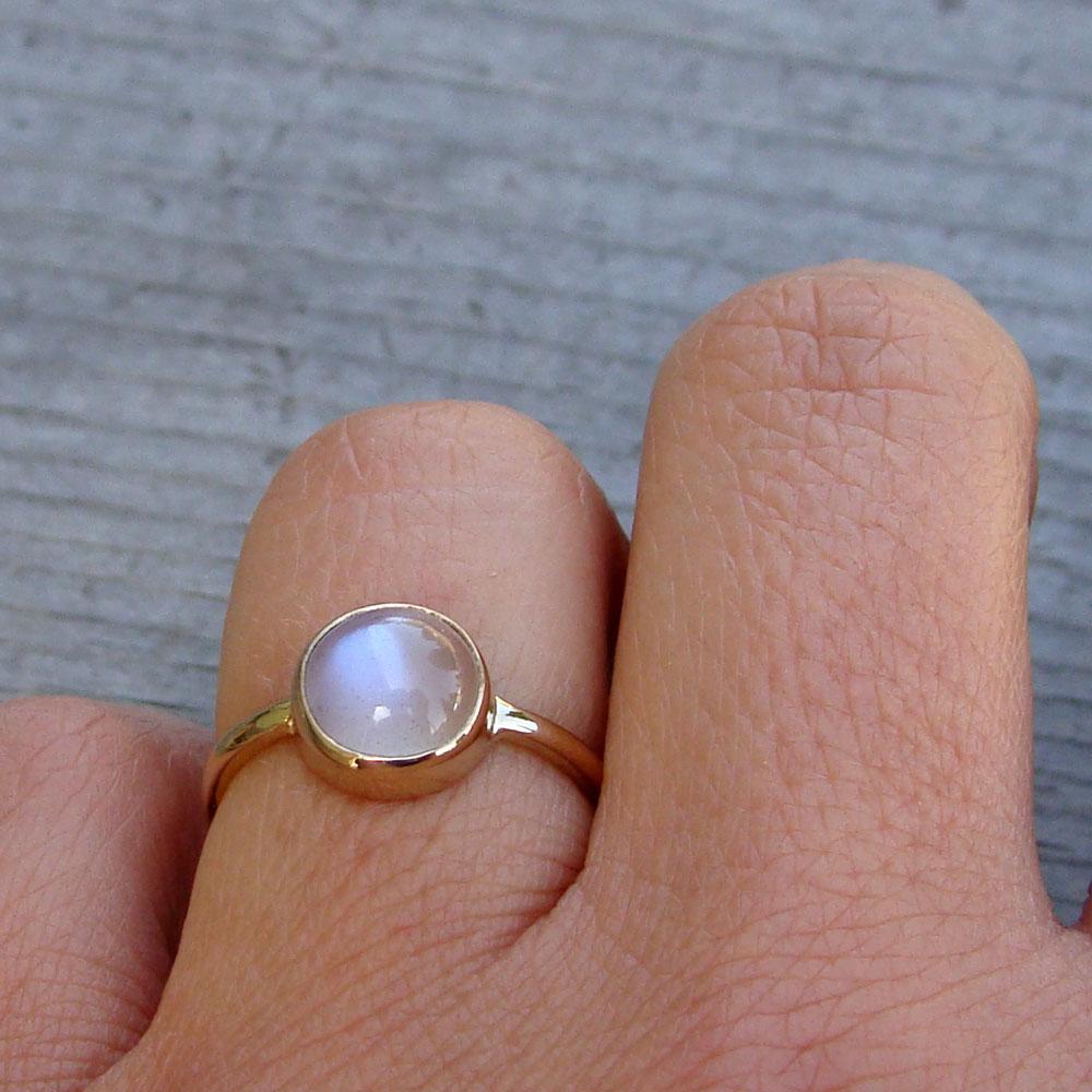 forever brilliant moissanite moonstone wedding band moonstone ring
