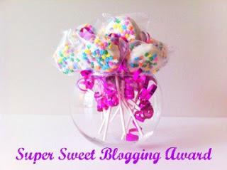 super sweet blogging award