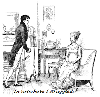 analysis of darcys first proposal to elizabeth essay Free essay: literary analysis of pride and prejudice by jane austen the novel pride and prejudice in comparing elizabeth and darcy's relationship with.