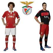 As novas camisolas do Benfica para a época 2012/2013 já são de domínio . (novos equipamentos benfica principal secundario aposta)