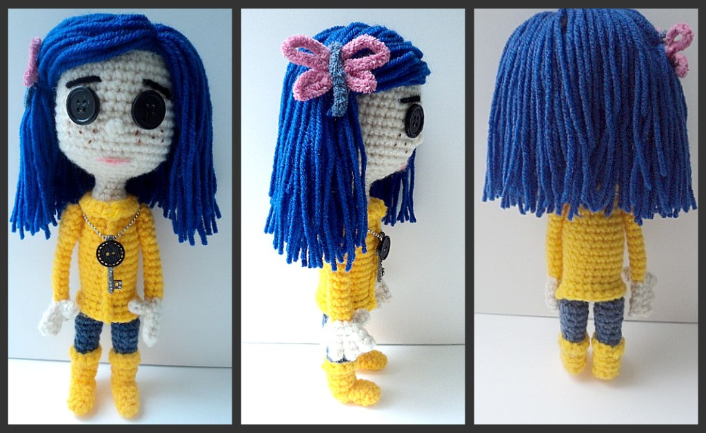 Amigurumi To Go Coraline : Homemade Obsessions: Coraline Doll Video Tutorial