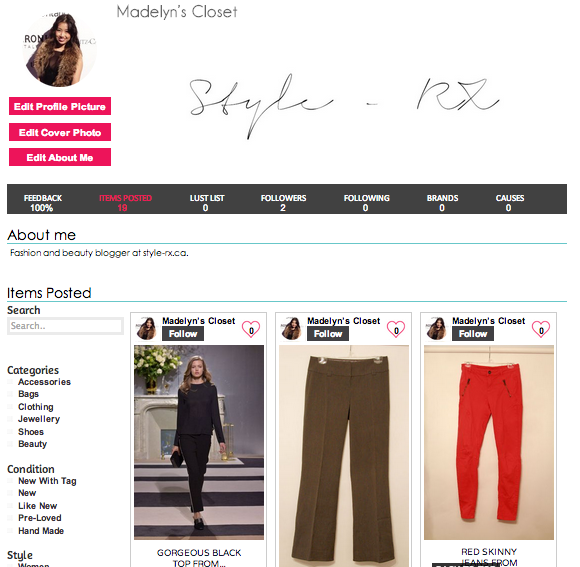 Trend Trunk: Madelyn's Closet