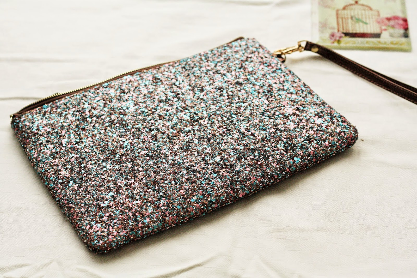 Sparkly clutch bag Aldo