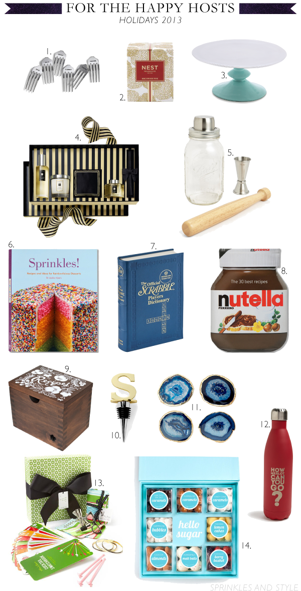 Sprinkles and Style || Holiday Gift Guide: For the Host