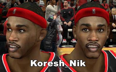 NBA 2K13 Will Barton Cyberface Patch