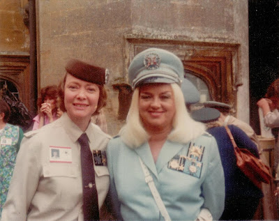 Daphne Neville with Diana Dors