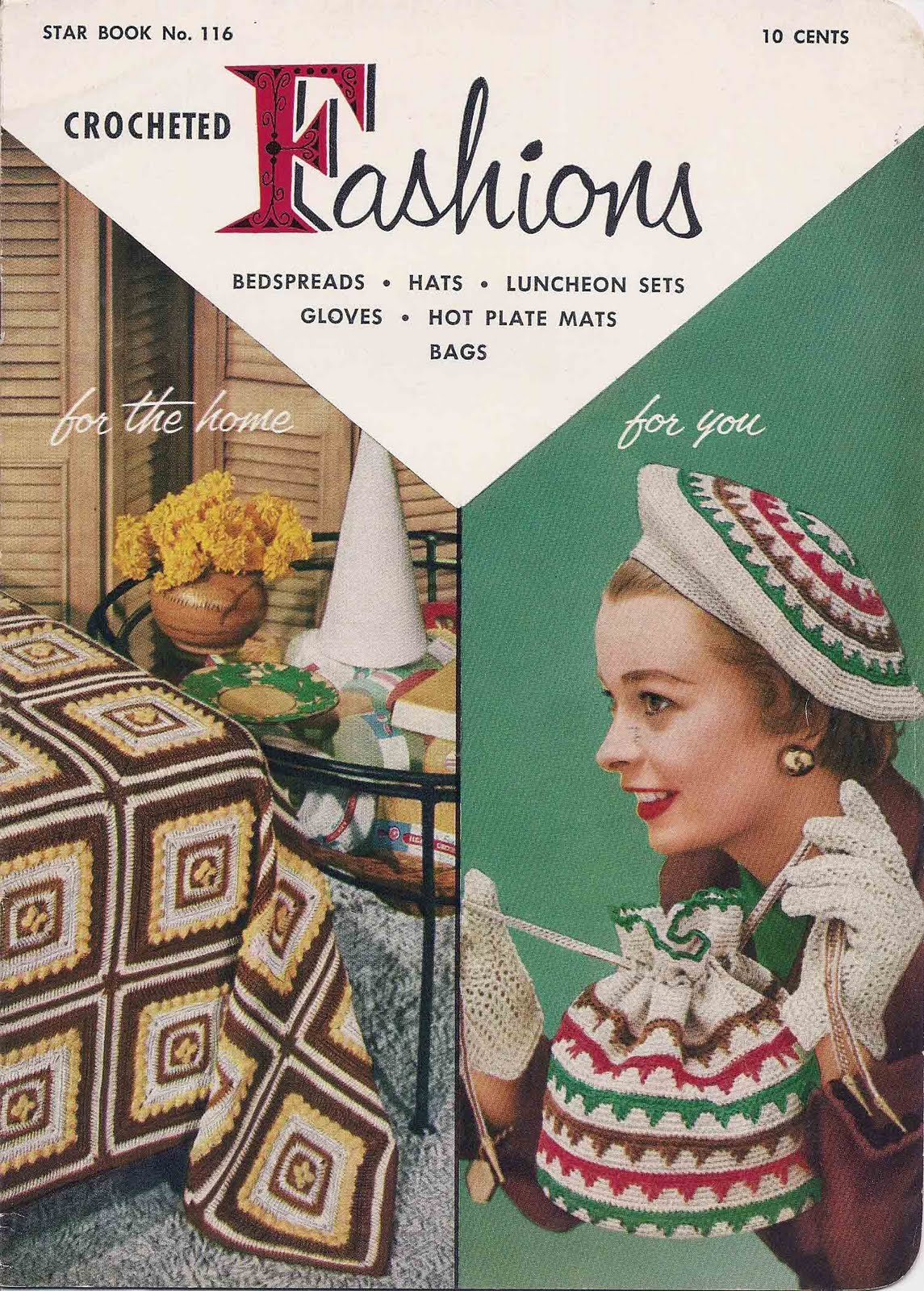 Crocheted Fashions Pattern Book