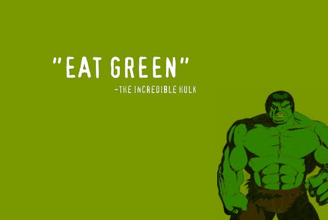 eat green healthy printable