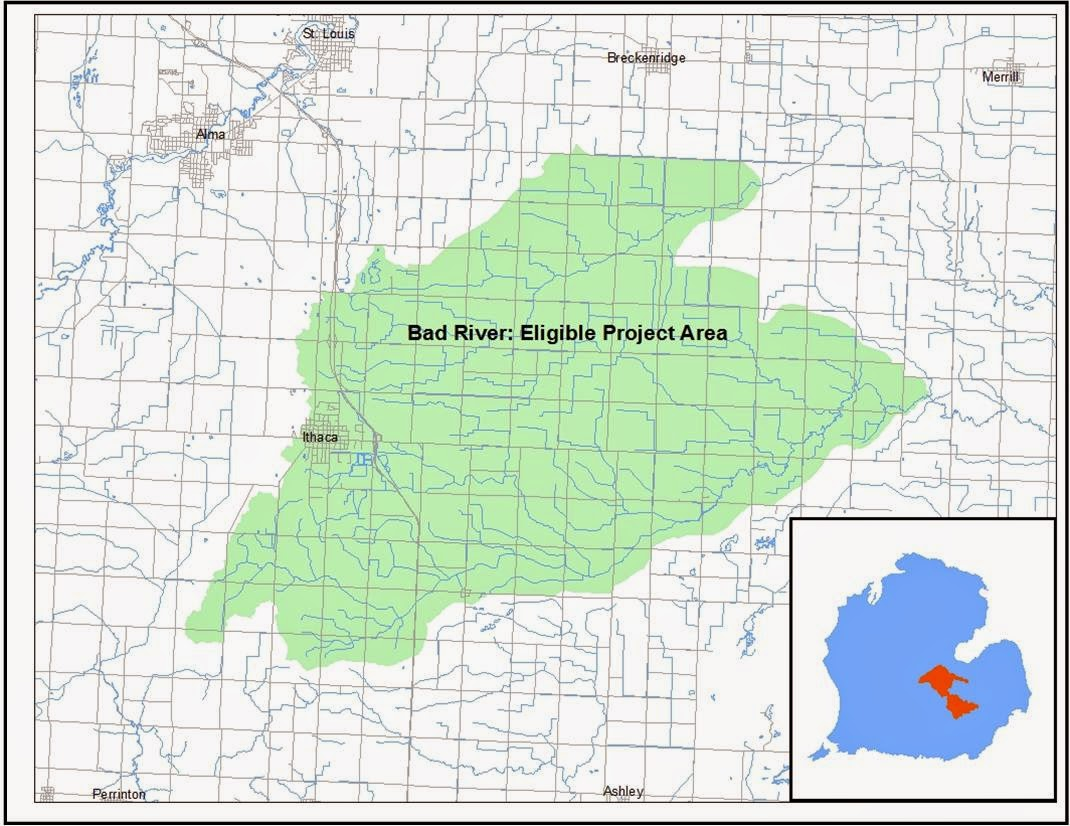Michigan gratiot county breckenridge - The Gratiot Conservation District Is Pleased To Announce A New Soil Saving Incentive Program In The Upper Bad River Watershed Aimed At Paying Landowners To