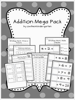 http://www.teacherspayteachers.com/Product/Addition-Mega-Pack-969674