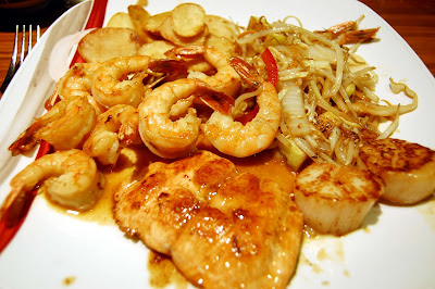 Stitch and Bear - Tippenyaki - Geisha seafood special