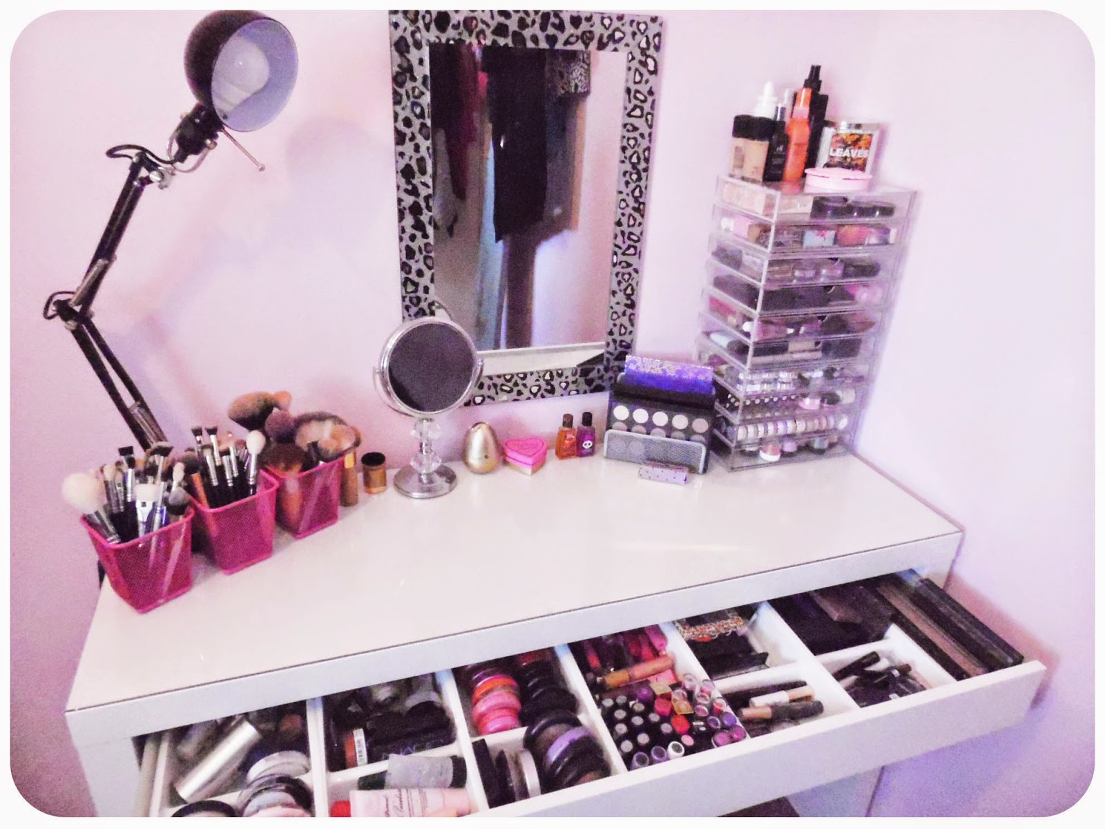 Ikea Glass Cabinet Philippines ~ My Makeup Obsession My dressing table setup  The Ikea Malm!