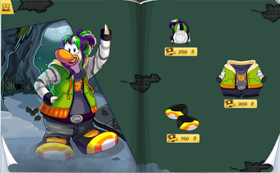 Club Penguin October 2015 Penguin Style Catalog Cheats
