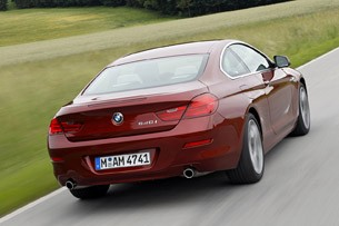 2012 BMW 6 Series Coupe driving